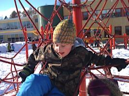 Rasmus klättrar som vanligt